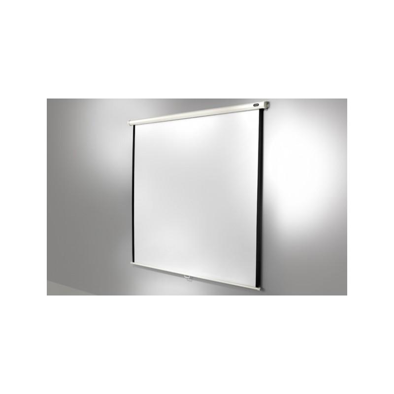 Manuale dello schermo di proiezione del soffitto di 180 x 180 cm di economia - image 11637