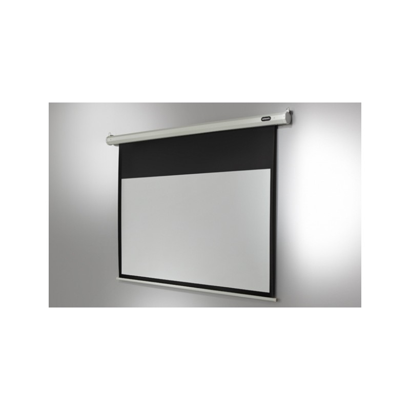 Economy-motorised 220 x 124 cm ceiling projection screen - image 11750