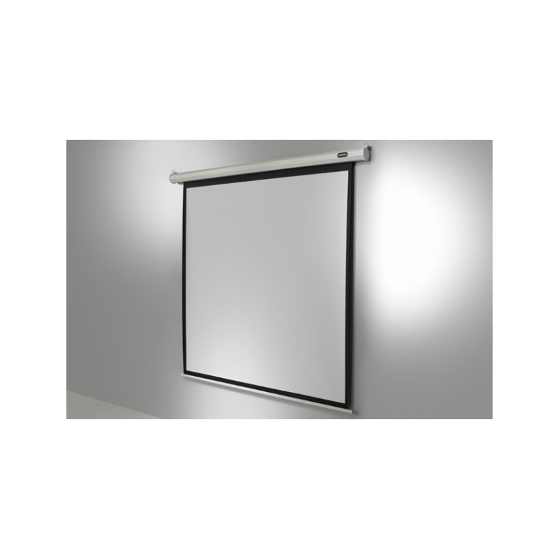 Economy-motorised 240 x 240 cm ceiling projection screen - image 11765