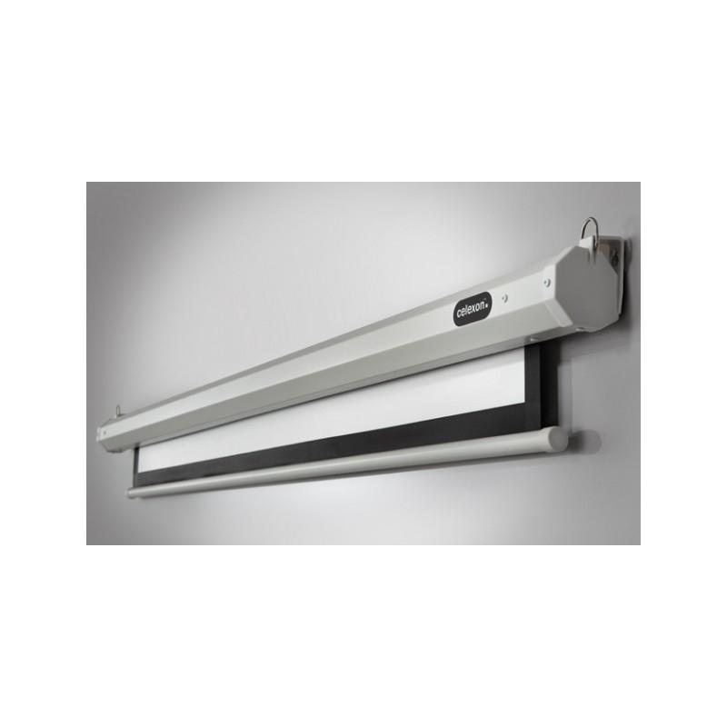 A soffitto motorizzato schermo di proiezione di economia 300 x 300 cm - image 11782