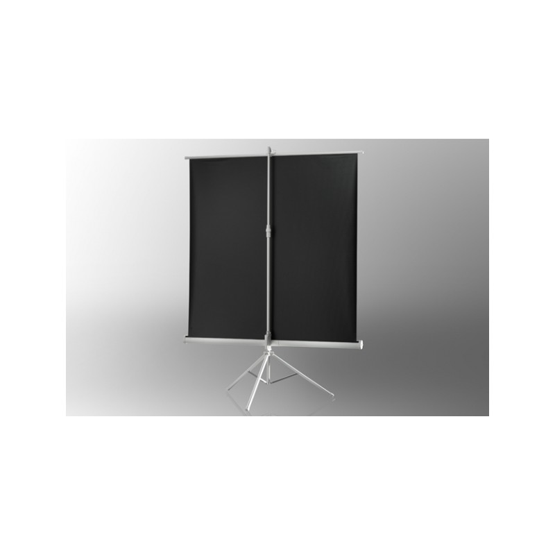 Projection screen on foot ceiling Economy 133 x 100 cm - White Edition - image 12001