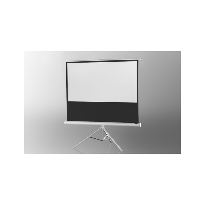 Projection screen on foot ceiling Economy 158 x 89 cm - White Edition - image 12027