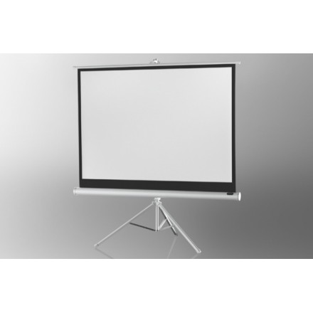 Projection screen on foot ceiling Economy 211 x 160 cm - White Edition