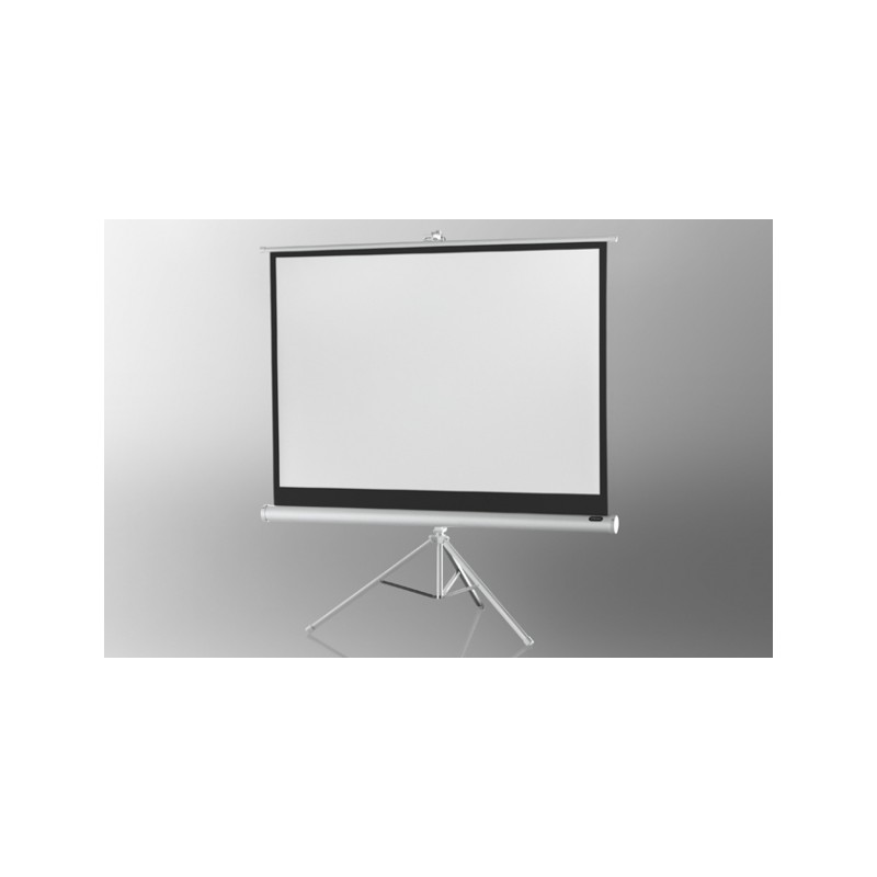 Projection screen on foot ceiling Economy 211 x 160 cm - White Edition - image 12051