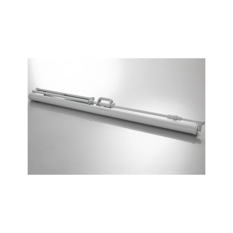 Schermo di proiezione a piedi soffitto economia 244 x 138 cm - White Edition - image 12073