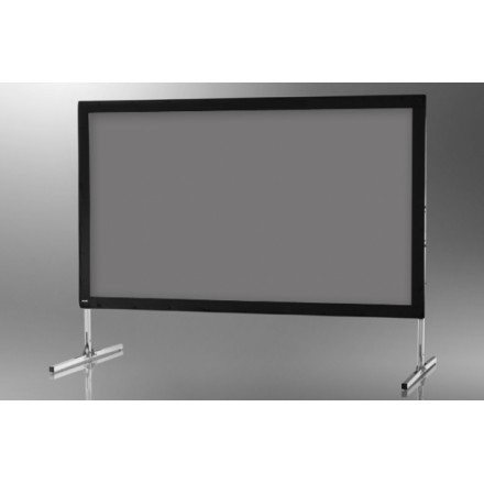 Projection screen on frame ceiling Mobile Expert 366 x 206 cm, projection by l, rear