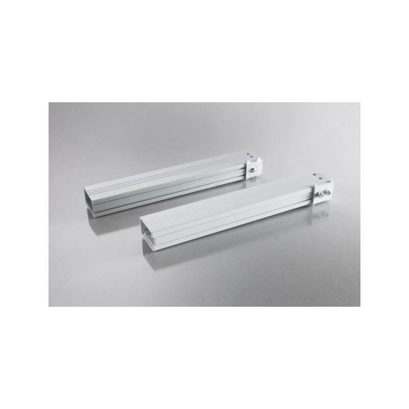 Prolongación de tubo de 40-70cm para el relieve 1200W - blanco - image 12352
