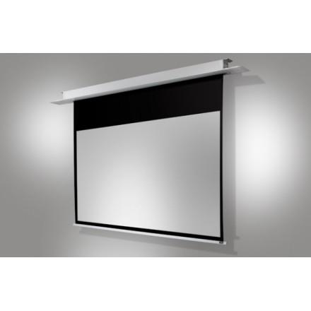 Ecran encastrable au plafond celexon motoris pro 160 x 100 cm - Ecran de projection encastrable plafond ...