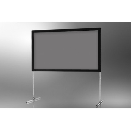 Projection screen on frame ceiling 'Mobile Expert' 366 x 229 cm, projection by l, rear
