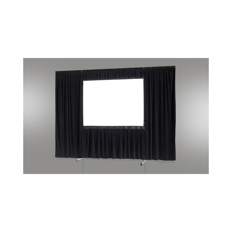 Kit de rideau 4 pièces pour les écrans celexon Mobile Expert 244 x 152 cm - image 12838