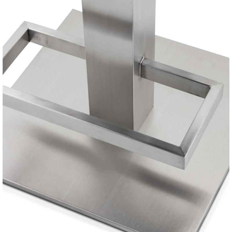 Tabouret design carré rotatif mi-hauteur ESCAULT MINI (noir) - image 16068