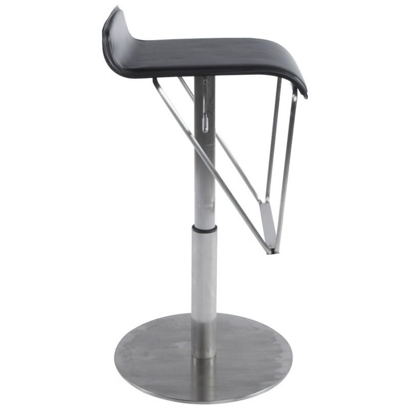 Bar stool rotating and adjustable ARIEGE (black) - image 16249