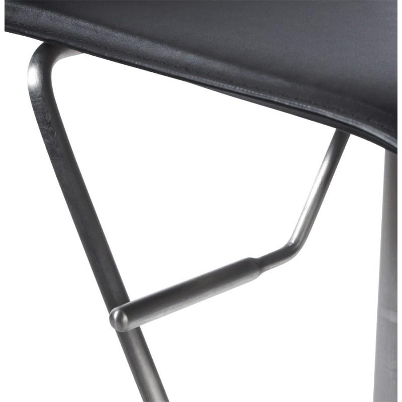 Tabouret de bar ARIEGE rotatif et réglable (noir) - image 16253