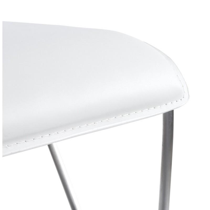 Tabouret de bar ARIEGE rotatif et réglable (blanc) - image 16261