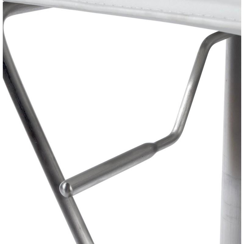 Tabouret de bar ARIEGE rotatif et réglable (blanc) - image 16263
