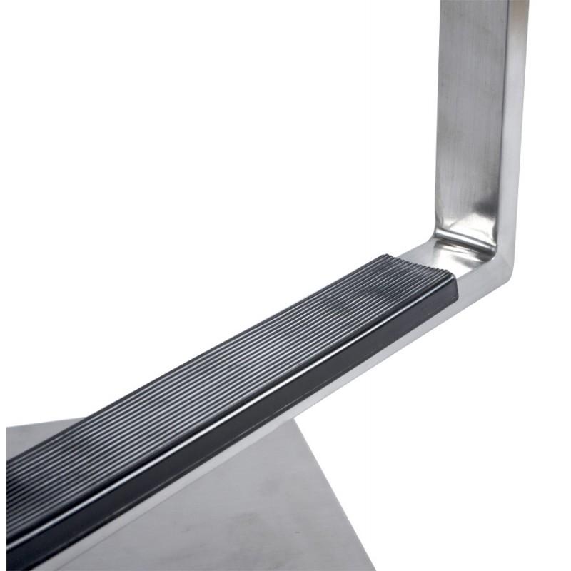 Tabouret de bar moderne rotatif et réglable GARDON (noir) - image 16364
