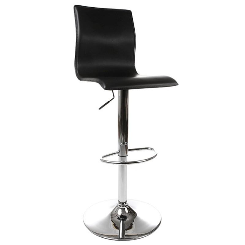 Tabouret de bar MARNE rotatif et réglable (noir) - image 16554
