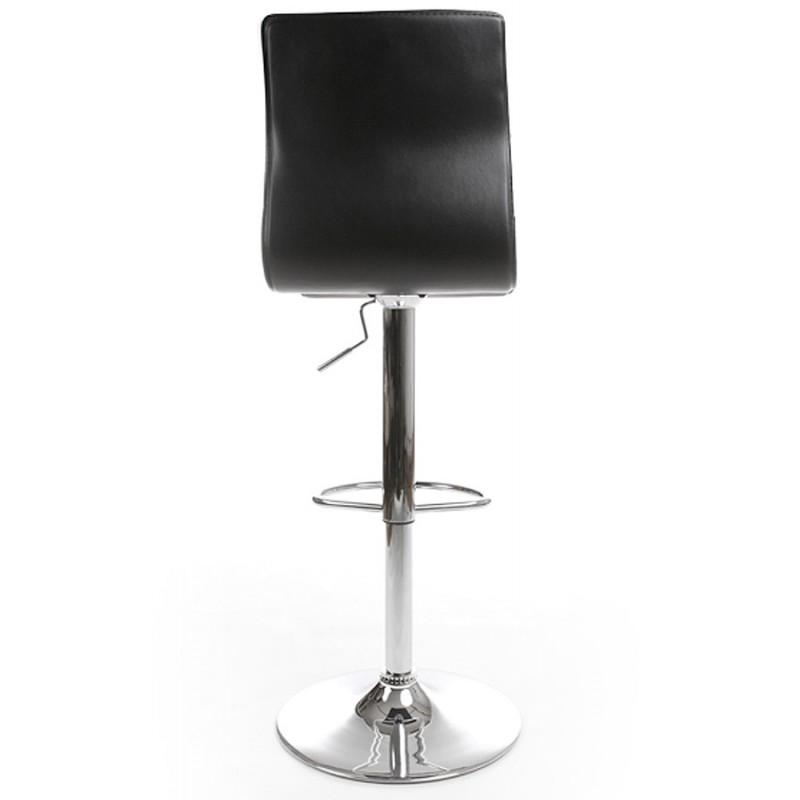 Tabouret de bar MARNE rotatif et réglable (noir) - image 16559