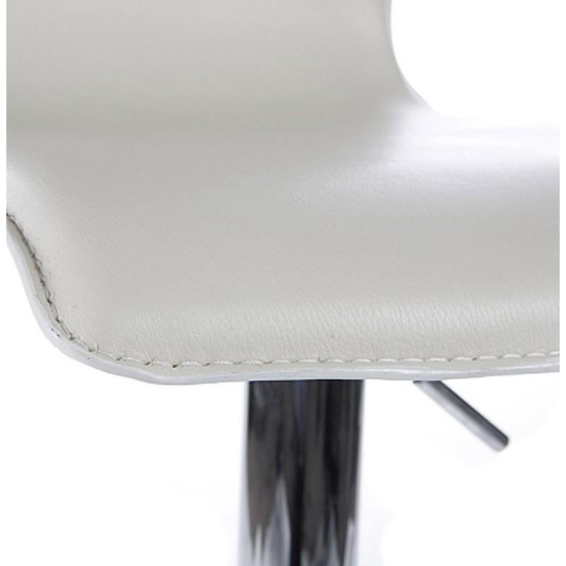 Tabouret de bar MARNE rotatif et réglable (crème) - image 16569