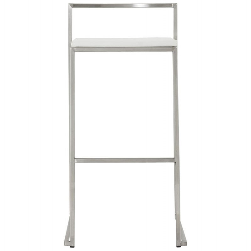 Bar stool design square DORDOE (white) - image 16632