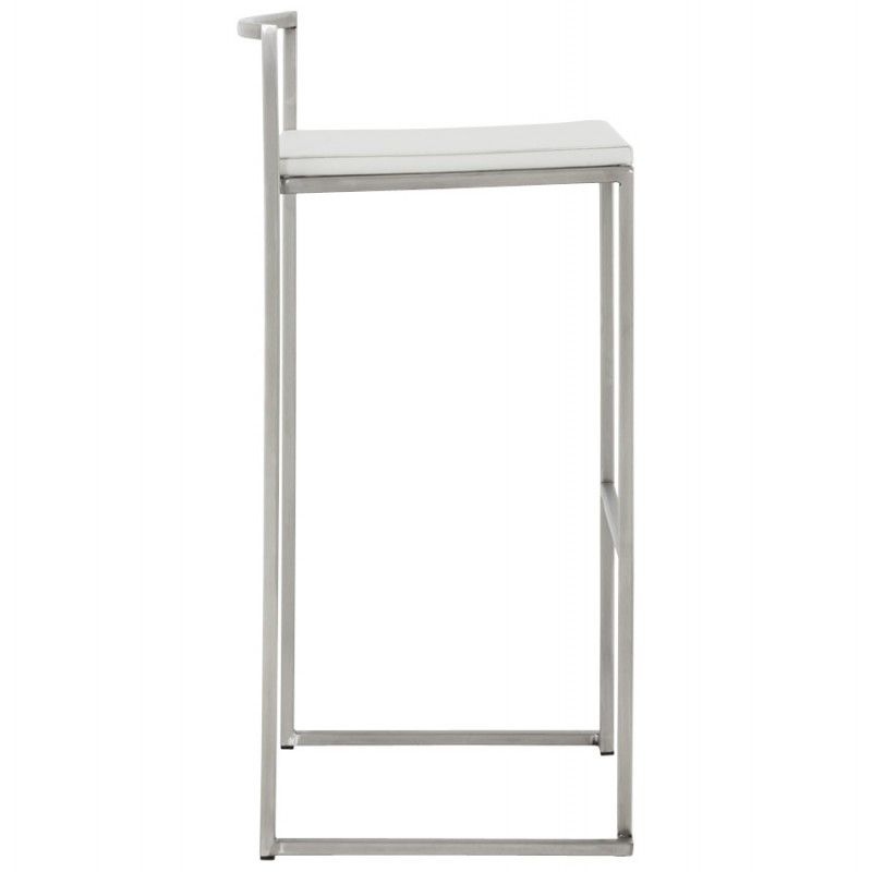 Bar stool design square DORDOE (white) - image 16633