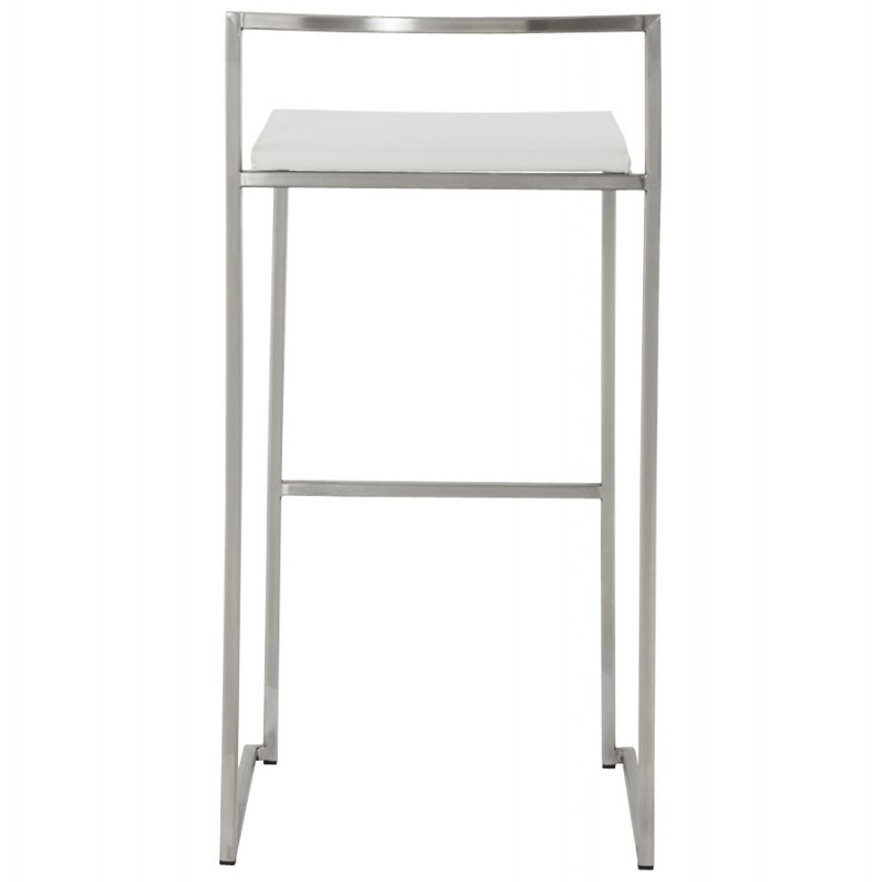 Bar stool design square DORDOE (white) - image 16635
