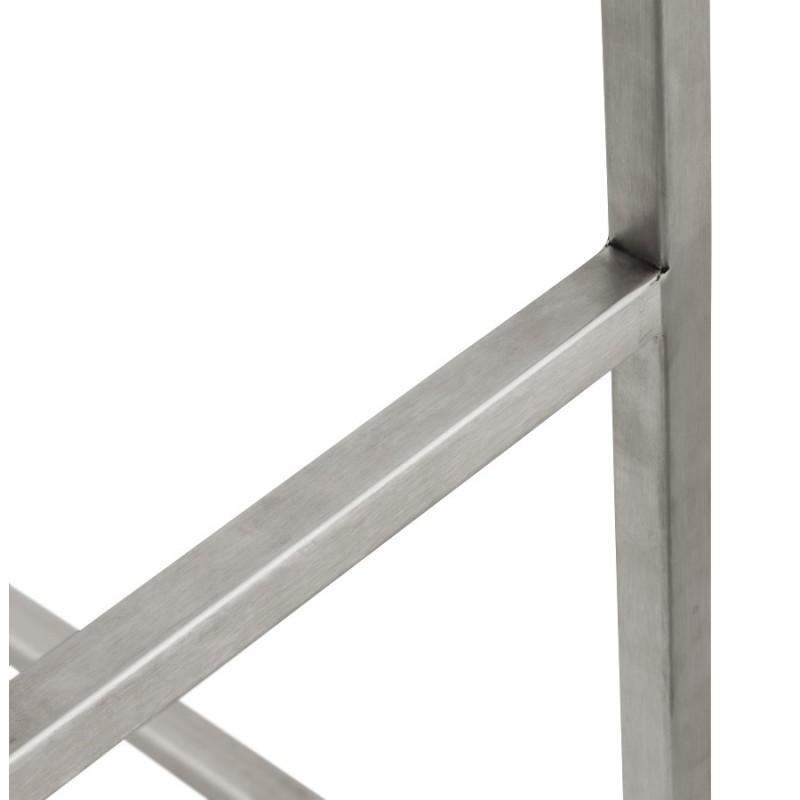 Bar stool design square DORDOE (white) - image 16640