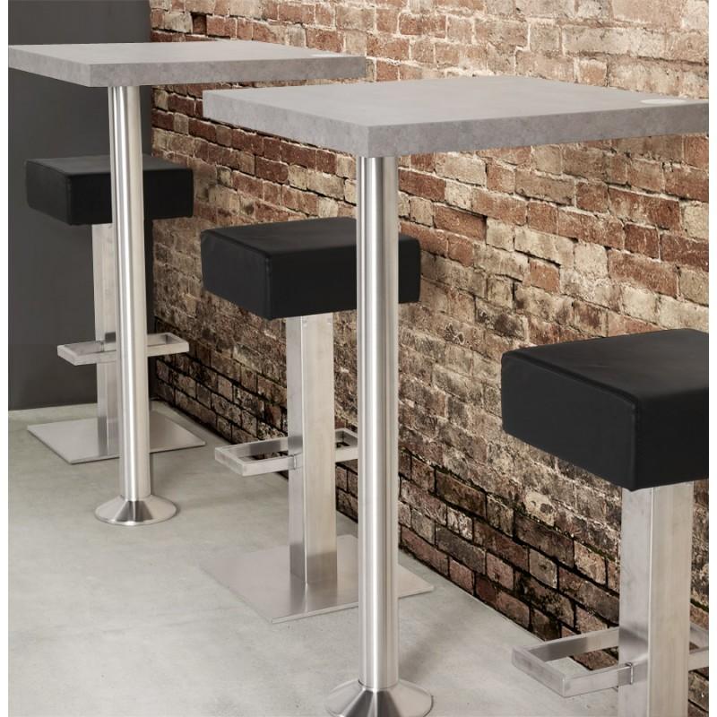 Design swivel bar stool OISE rotary (black) - image 16652