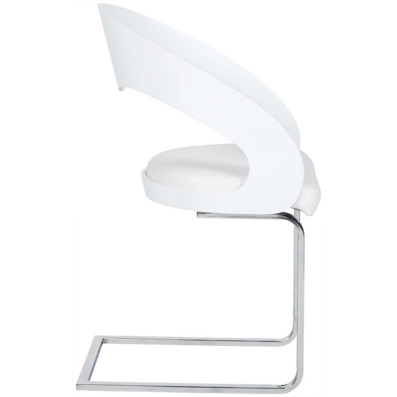 Chaise contemporaine LOING (blanc) - image 16744
