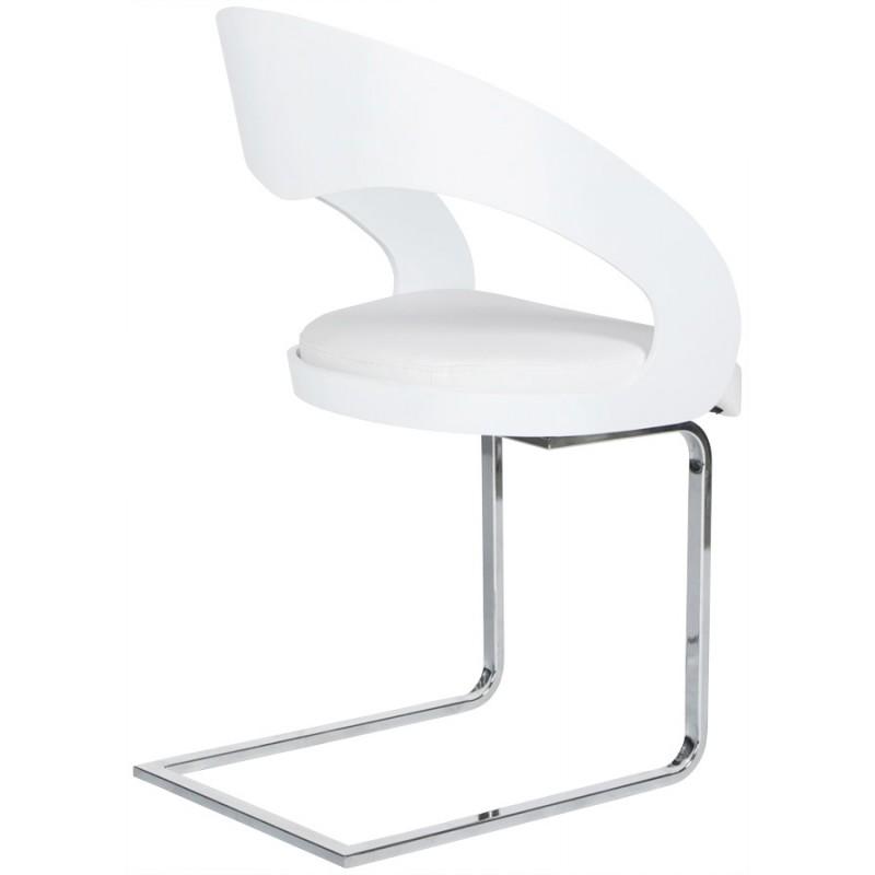 Chaise contemporaine LOING (blanc) - image 16745
