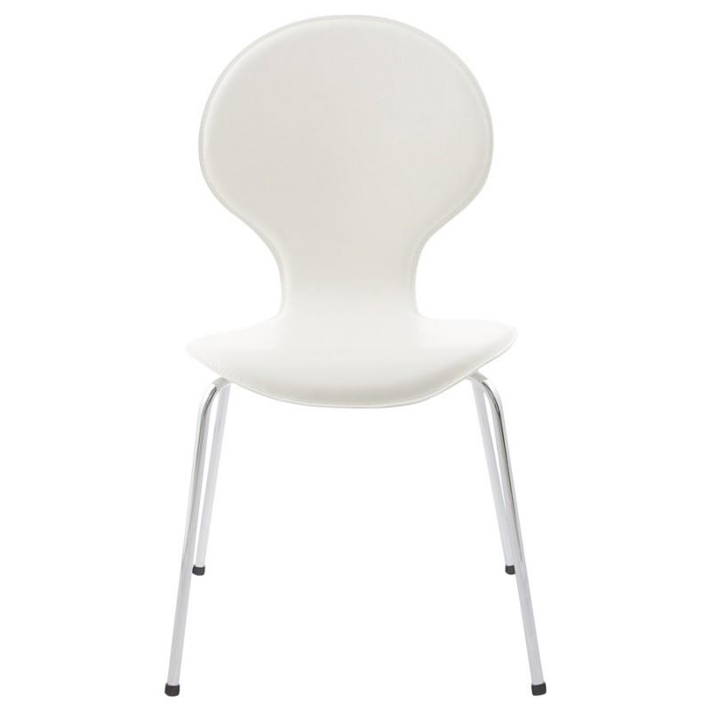 moderner stuhl stapelbar arroux schwarz. Black Bedroom Furniture Sets. Home Design Ideas