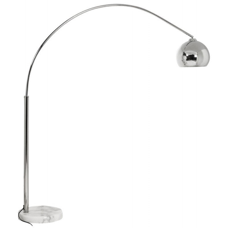 MOEROL SMALL CHROME design floor lamp chrome-plated steel (middle and chrome)  - image 16944