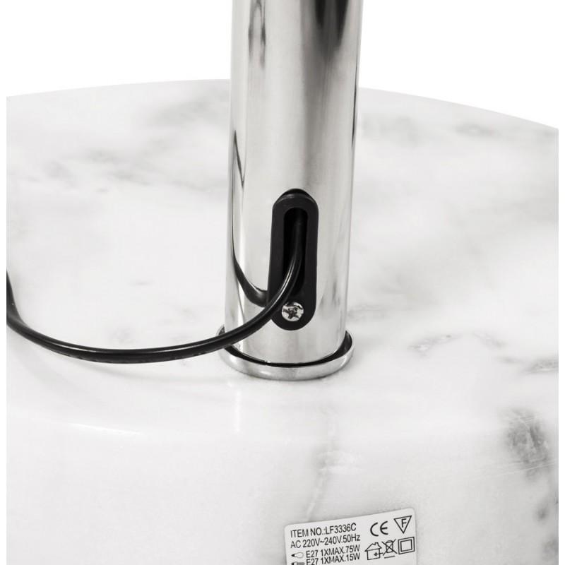 Lampe sur pied design MOEROL SMALL en acier chromé (moyenne et orange) - image 16963