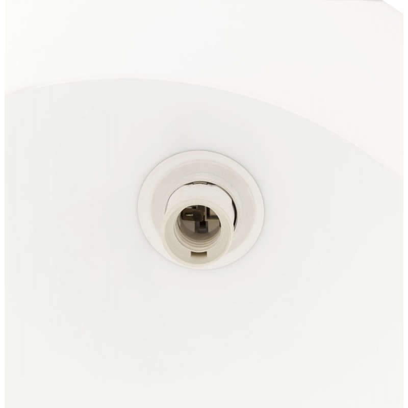 Lampe sur pied design MOEROL SMALL en acier chromé (moyenne et blanche) - image 16973