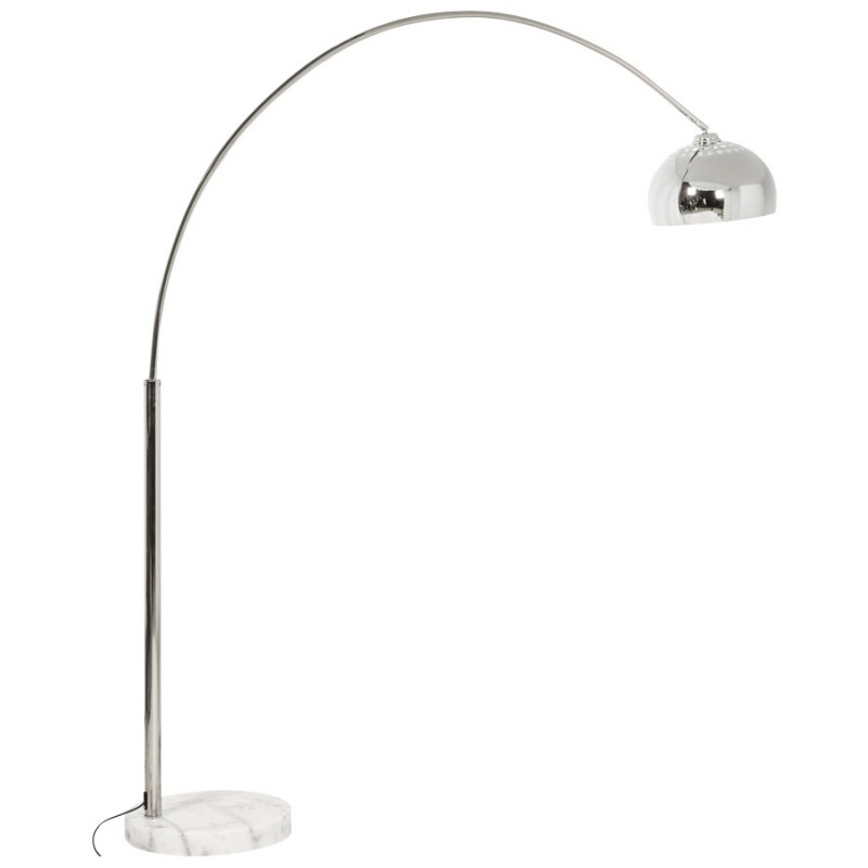 MOEROL XL CHROME Design floor chrome steel lamp (great and chrome) - image 16983