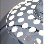 Design Stehleuchte MOEROL XL CHROME  Chrom-Stahl (große und Chrom)