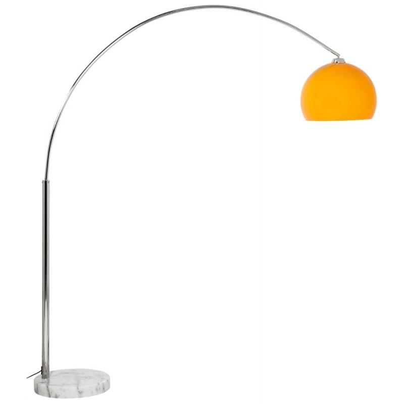 Lámpara de pie de diseño de pantalla ajustable de MOEROL XL (grande y naranja) - image 16995