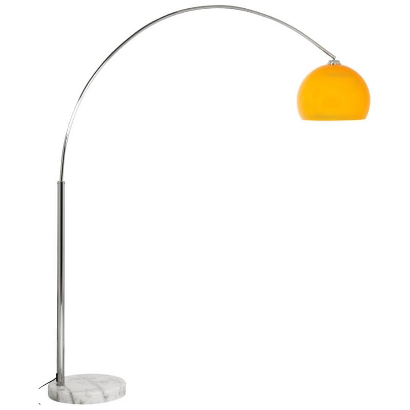 Lámpara de pie de diseño de pantalla ajustable de MOEROL XL (grande y naranja) - image 16996