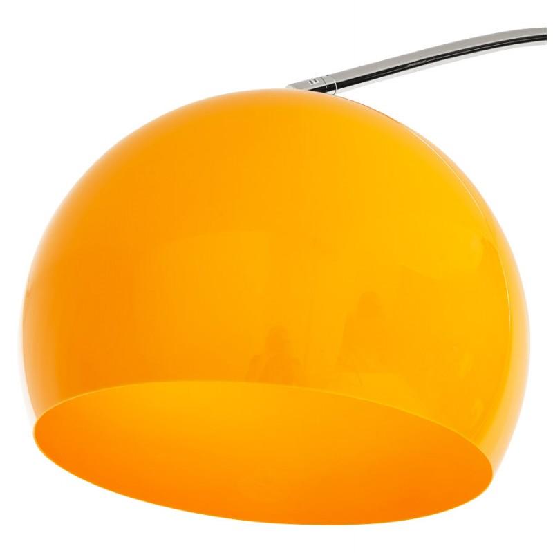 Lampe sur pied design MOEROL XL abat jour orientable (grande et orange) - image 16999