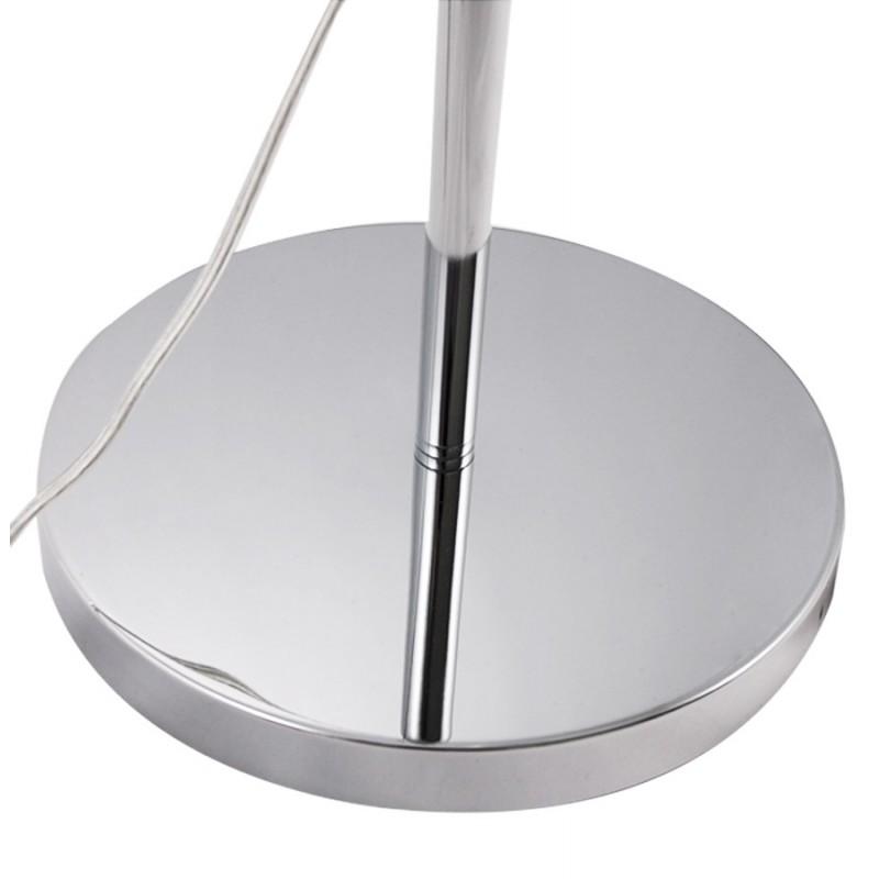 Lampe sur pied design QUETZAL en acier chromé (chromé) - image 17028