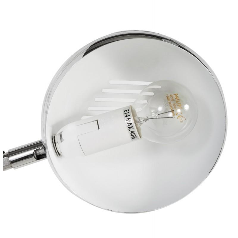 Lampe sur pied design 5 abat-jours ROLLIER en acier chromé (chromé) - image 17036