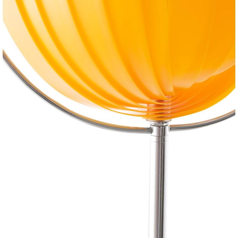 Lampe sur pied design BARBICAN BIG en acier chromé (orange) - image 17060