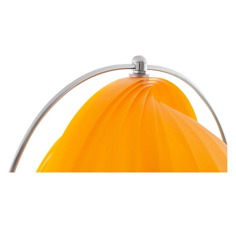 Lampe sur pied design BARBICAN BIG en acier chromé (orange) - image 17061