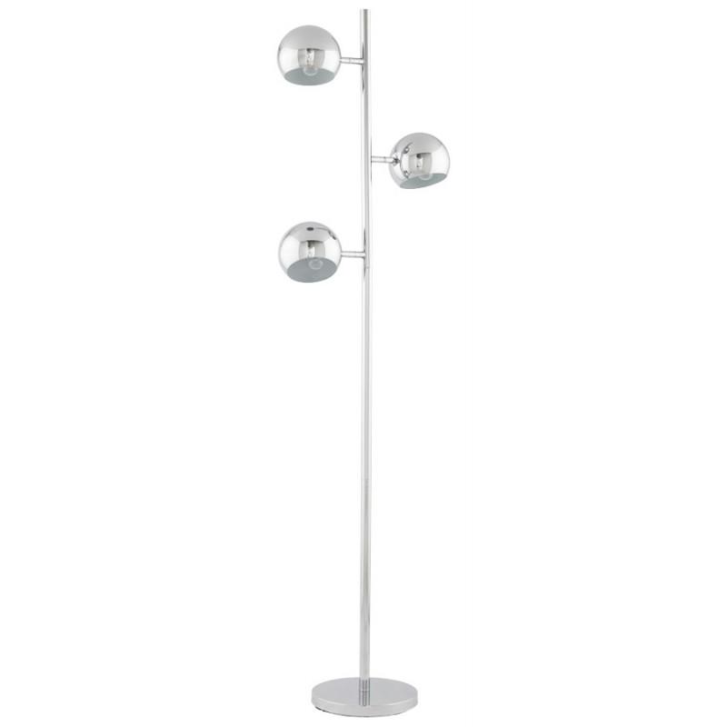 Lampe sur pied design 3 abat-jours TANGARA en acier chromé (chromé) - image 17079