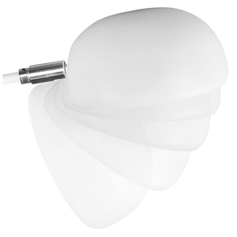 Diseño de lámpara 5 tonos ROLLIER pintado metal (blanco) - image 17121