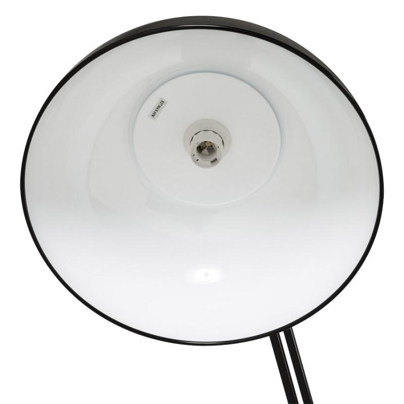 Lampe sur pied design ROLLIER en métal (noir) - image 17143
