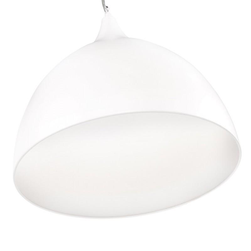 Lampe à suspension design PAON en métal (blanc) - image 17175