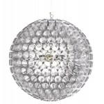 Lampada progettazione a sospensione APALIS metallo (argento)