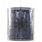 Lampada di design a sospensione ARA in metallo (trasparente)