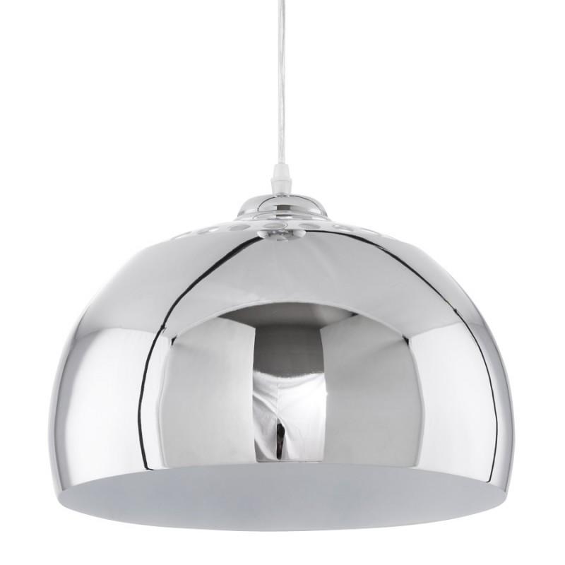 Lampe à suspension design ARRENGA en métal (chromé) - image 17257